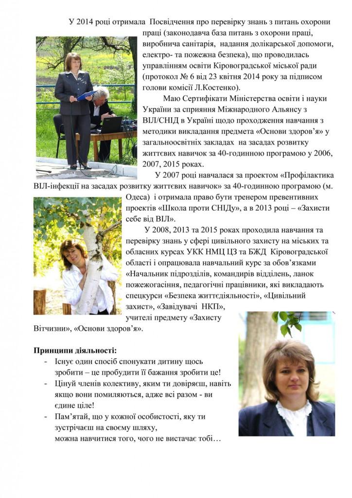 Портфоліо Куропятник Лариса Миколаївна - лютий 2018-2