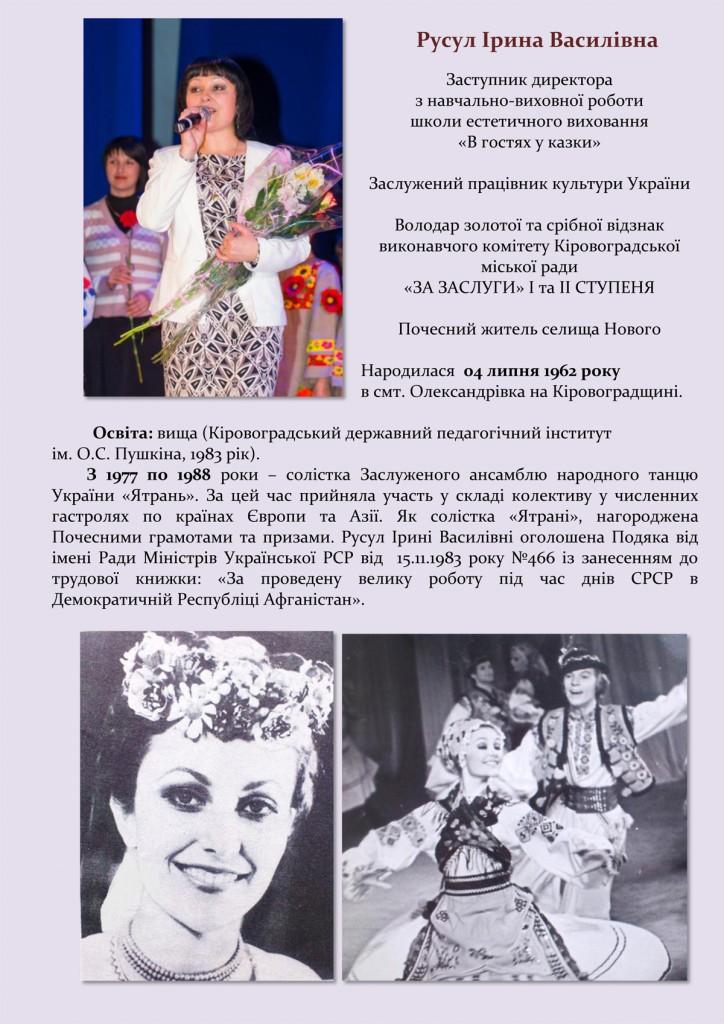 Портфоліо Русул Ірина Василівна-1