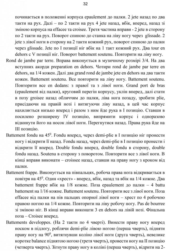 Програма Сценічна гімнастика.32